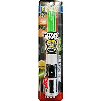 Star Wars Disney Cepillo eléctrico de dientes infantil con luz y sonido para niños de 2 a 6 años blister 1 unidad Blister 1 unidad