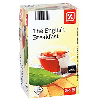 DIA té negro english breakfast Estuche 25 bolsitas