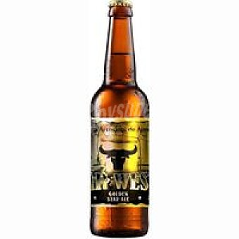 Far West Cerveza Golden Star Ale Botellín 33 cl