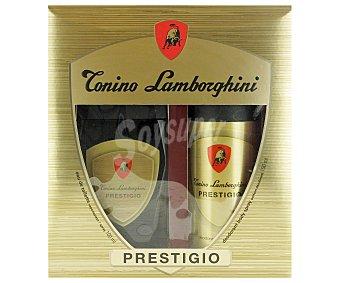 Tonino Lamborghini Estuche Colonia Hombre: Colonia Prestigio 100ml + Desodorante 150ml T. 1u