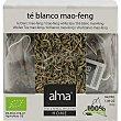 Mao-Feng té blanco ecológico caja 25 bolsitas biodegradables home  Alma