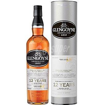 GLENGOYNE Whisky escocés premium de malta 12 años Botella 70 cl