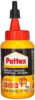 Pattex Express pegamento en cola blanca para todo tipo de maderas envase 250 g Envase 250 g