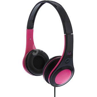 Tnb Auriculares de diadema en color negro y rosa 1 Unidad