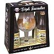 cerveza rubia belga  pack 4 botellas 33 cl Tripel karmelit