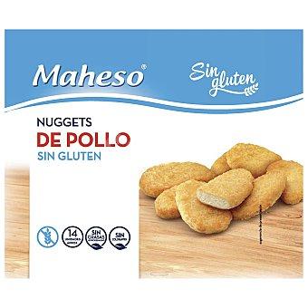 Maheso Nuggets de pollo sin gluten Caja 300 g