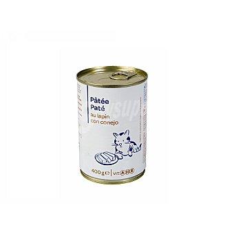 Carrefour Lata Pate de conejo para Gato 400 gr 400 gr