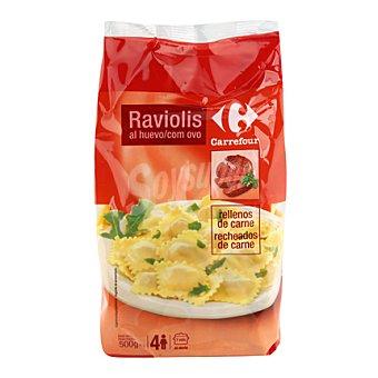 Carrefour Ravioli r/carne 500 g