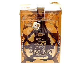 Destilerías Campeny Crema de chocolate con vainilla y avellanas Tolón-Tolón Botella de 70 cl