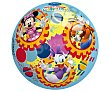 Pelota de 23 cm decorada con los personajes de la serie La casa de Mickey Mouse disney  Disney