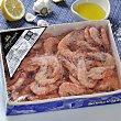 Langostino cocido congelado (60/80 ud) 900 g Pescatrade