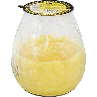 Papstar Insecticida antimosquitos vela vaso cristal con citronela 1 unidad 1 unidad