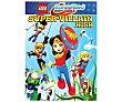 Lego DC Super Hero Girls: Instituto de supervillanas, 2017. Película en Dvd. Género: animación, infantil, cine familiar. Edad: +6 años.  LEGO