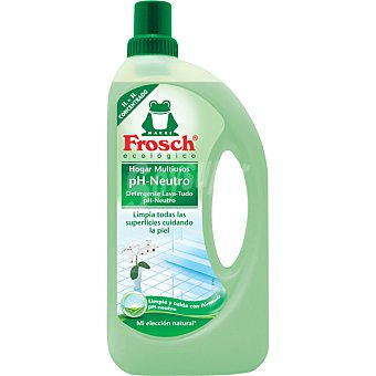 FROSCH Limpiador multiusos concentrado pH neutro ecológico superficies delicadas Botella 1 l