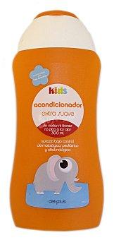 Deliplus Acondicionador cabello extra suave niños kids (tapon naranja) Botella 300 cc
