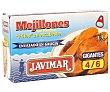 Mejillones escabeche Lata de 68 g Javimar