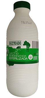 Hacendado Leche semidesnatada esterilizada Botella 1,5 l