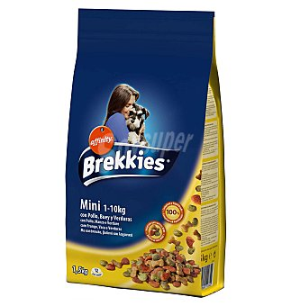 Brekkies Affinity Com.perros exc.dog mini 1500 GRS