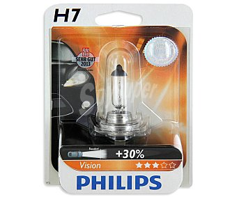Philips Bombilla halógena para automóvil, modelo H7 Premium, potencia: 55W 1 Unidad