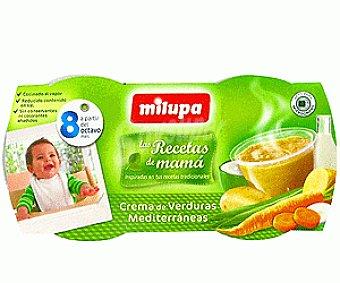 Milupa Crema de Verduras Mediterraneas Recetas de Mamá 2x 200g