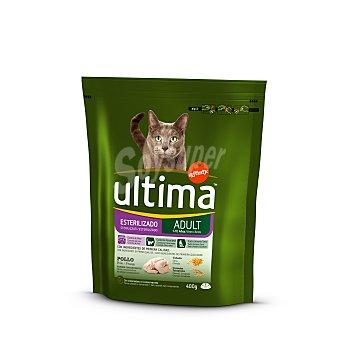 Ultima Affinity Alimento para gatos esterilizados Bolsa 400 gr