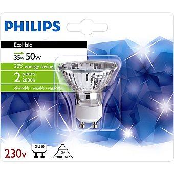 Philips (50 W) lámpara eco halógena twist GU10 230 V Ecohalo 35 W