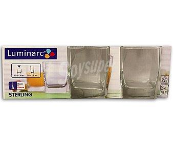 LUMINARC Pack de 3 vasos para whisky modelo Sterling, con capacidad de 30 centilitros 1 Unidad