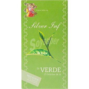 SILVER INF Te verde 20 sobres estuche 50 g