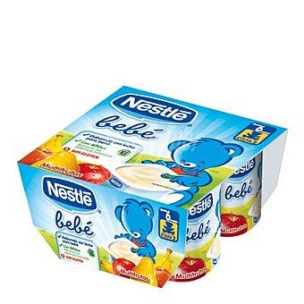 Nestlé Bebé Yogur multifruta Pack de 4x100 g