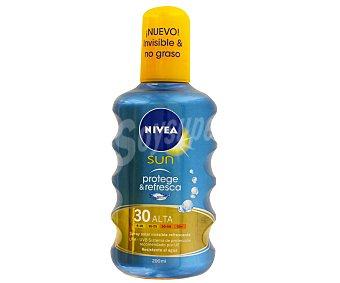 Nivea Sun Crema solar invisible F30 Spray 200 ml