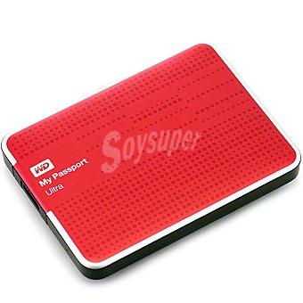 WESTER Disco Duro Externo My Passport 1TB en color rojo