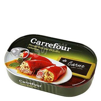 Carrefour Pimientos del Piquillo rellenos de carne 260 g