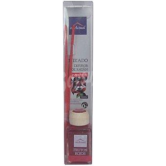 CASACTUAL Mikado Ambientador en varillas aromáticas Frutos rojos 18 ml