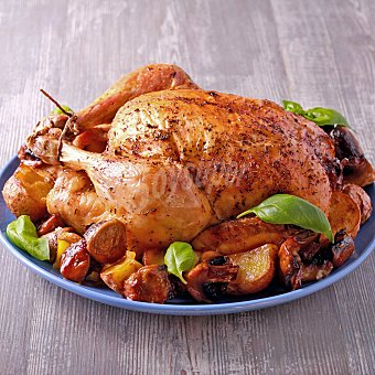 Pollo asado sazonado 1 ud