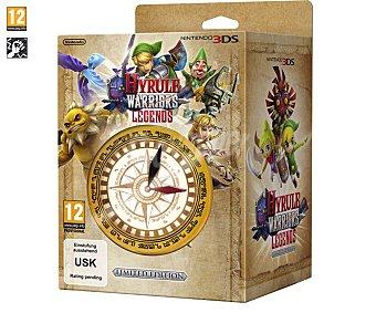 Acción Videojuego Zelda Hyrule Warriors Legends Pack de edición limitada con brújula para Nintendo 3 Ds. Género: acción, lucha. Edad: +7 3Ds