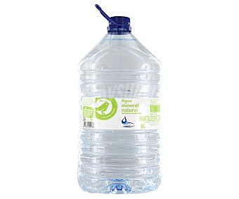 Productos Económicos Alcampo Agua mineral Garrafa de 8 l