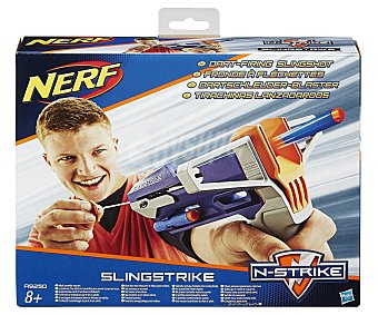 NERF Pistola tirachinas lanzadora de dardos de foam Elite Slingstrike 1 unidad