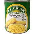maíz dulce en grano lata 425 g neto escurrido El Pilar