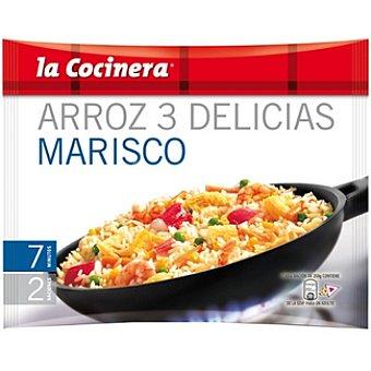 La Cocinera Arroz 3 delicias marisco Bolsa 500 g