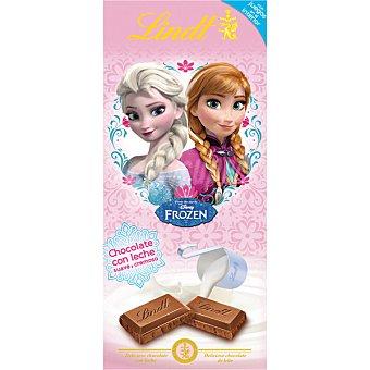 LINDT Disney Princess Chocolate con leche suave y cremoso Tableta 100 g