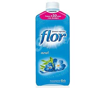 Flor Suavizante Flor concentrado azul Botella 64 lavado