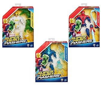 Marvel Figura básica articulada Super Hero Mashers con partes intercambiables, 20 centímetros aproxidamadamente 1 unidad