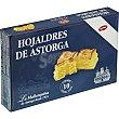 hojaldres de Astorga con miel estuche 350 g La mallorquina