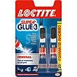 Super Glue-3 pegamento Original universal instantaneo pack 2 tubo 3 g Pack 2 tubo 3 g Loctite