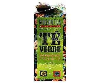 Mushutea Té verde, hierbabuena y jazmín 100 g