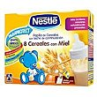 Papilla líquida de 8 cereales con miel desde 6 meses Pack 2x250 ml Nestlé Papillas