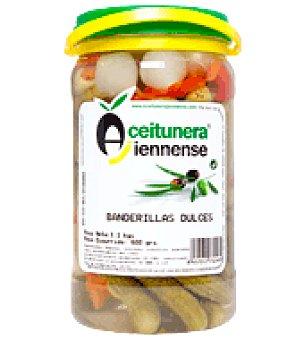 Aceitunera Jiennense Banderillas dulces 650 g
