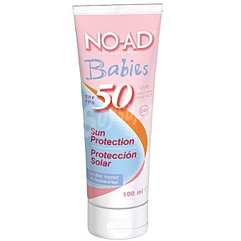 NO-AD Protector solar para bebes FP-50 tubo 100 ml