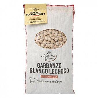 De nuestra tierra Garbanzo blanco lechoso categoría extra 1 kg 1 kg