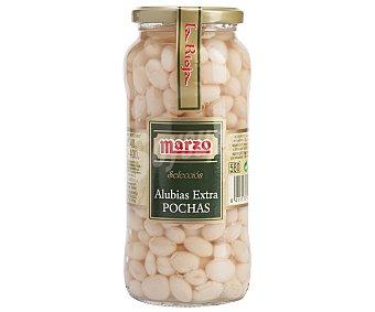 Marzo Alubias Cocidas Blancas Natural Pocha Redonda 400 Gramos